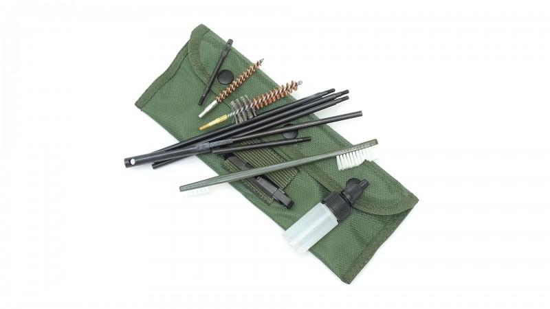GI cleaning kit, Reinigungsset mit Tasche .223
