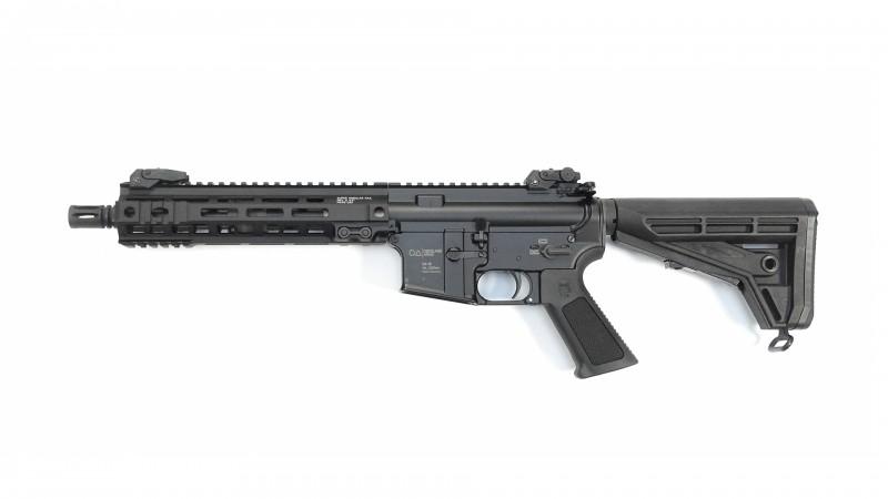 "OA-15 PR M8, Lauf 10"", Geissele M-LOK Handguard 9,5"" MK-4 , OA M4-Schaft, BUIS, MFD"