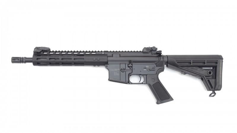 "OA-15 C4, Lauf 10,5"", BL M-LOK Handguard 9"" slim, OA M4-Schaft, BUIS, MFD"