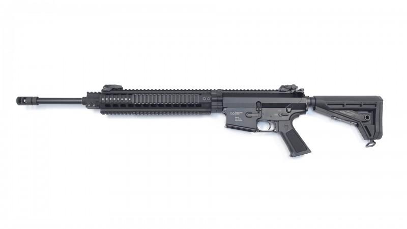 "OA-10 DMR, 20"" Heavy Barrel schwarz, OA TRH 13"" rifle length, OA M4-Schaft, Kompensator, BUIS"