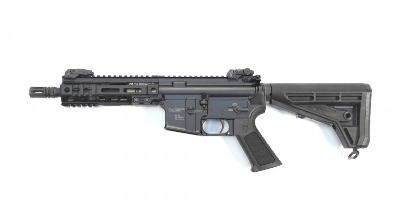 "OA-15 PR M7, Lauf 8"", Geissele M-LOK Handguard 7"" MK-4 , OA M4-Schaft, BUIS, MFD"