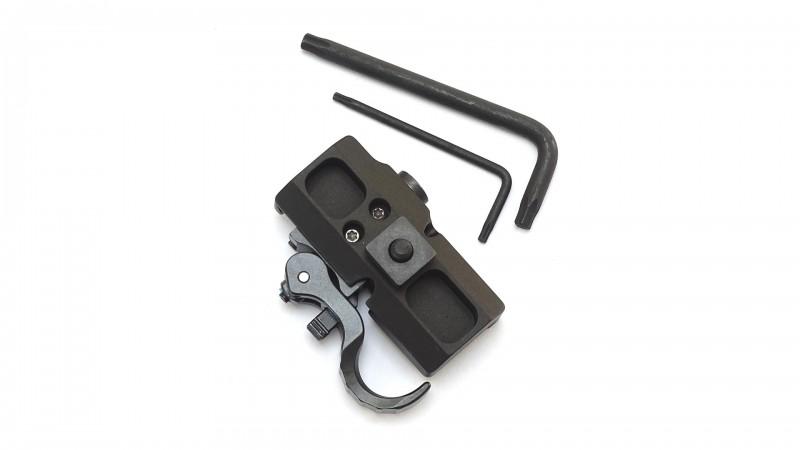 Recknagel QD Adapter für Harris Zweibein mit Nutenstein (T1391-0013)