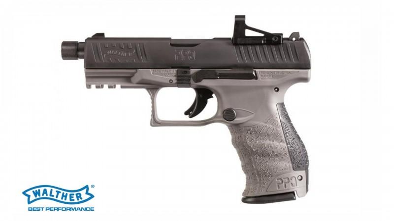 "PPQ COMBO, QA TAC Combo 4"" | 9 mm x19, Tungsten Grey, SD-Lauf, PS"