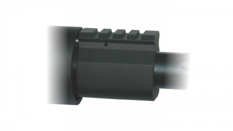 Gas Block Picatinny Profil, BB, Aluminium
