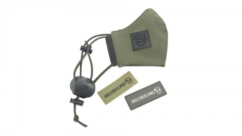 OA Sepp-Mask (Mund-/Nasenschutz), Herren, Gr. L, oliv