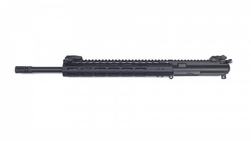 "Wechselsystem DMRE, 20"" Heavy Barrel schwarz, OA TRH 13"" rifle length, Kompensator"