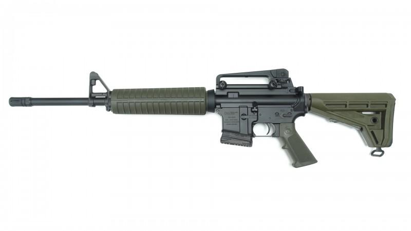 """OA GZR 16,75"""", M4-Handguard , OA M4-Schaft, A2 Frontsight, A3 Carryhandle, MFD"""