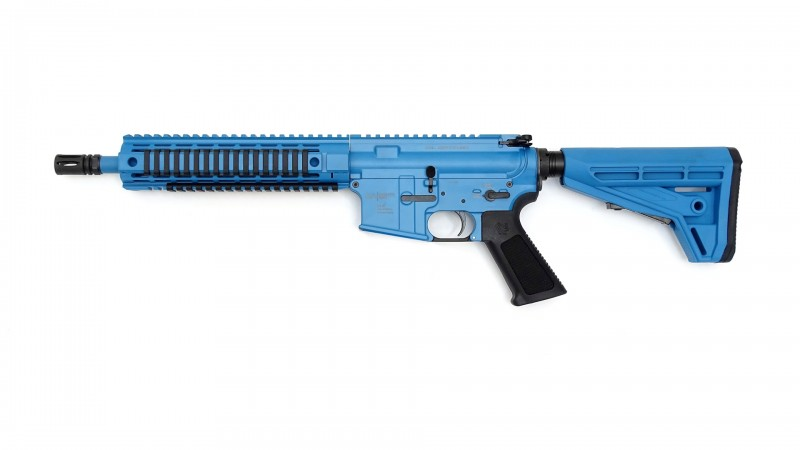 "OA-15 FX Trainingswaffe für FX Munition, blau, 10,5"" Lauf, OA M4-Schaft"