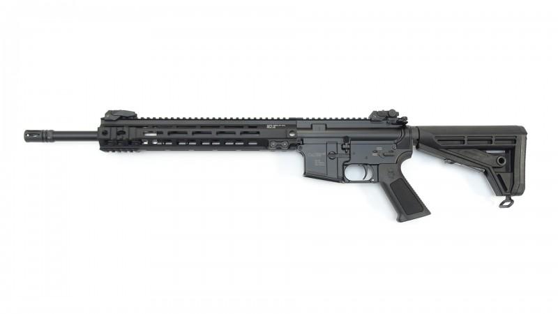 "OA-15 PR M5, Lauf 16,75"", Geissele M-LOK Handguard 13"" MK-4, OA M4-Schaft BUIS, MFD"