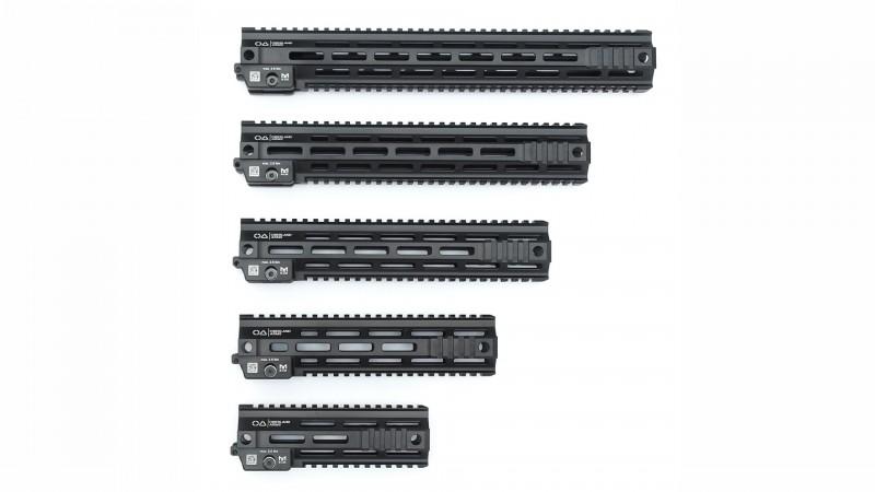 OA Modular Duty Rail Handguard / Handschutz, M-LOK/Picatinny, 5 Größen